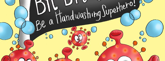 Front cover of bye bye germs book